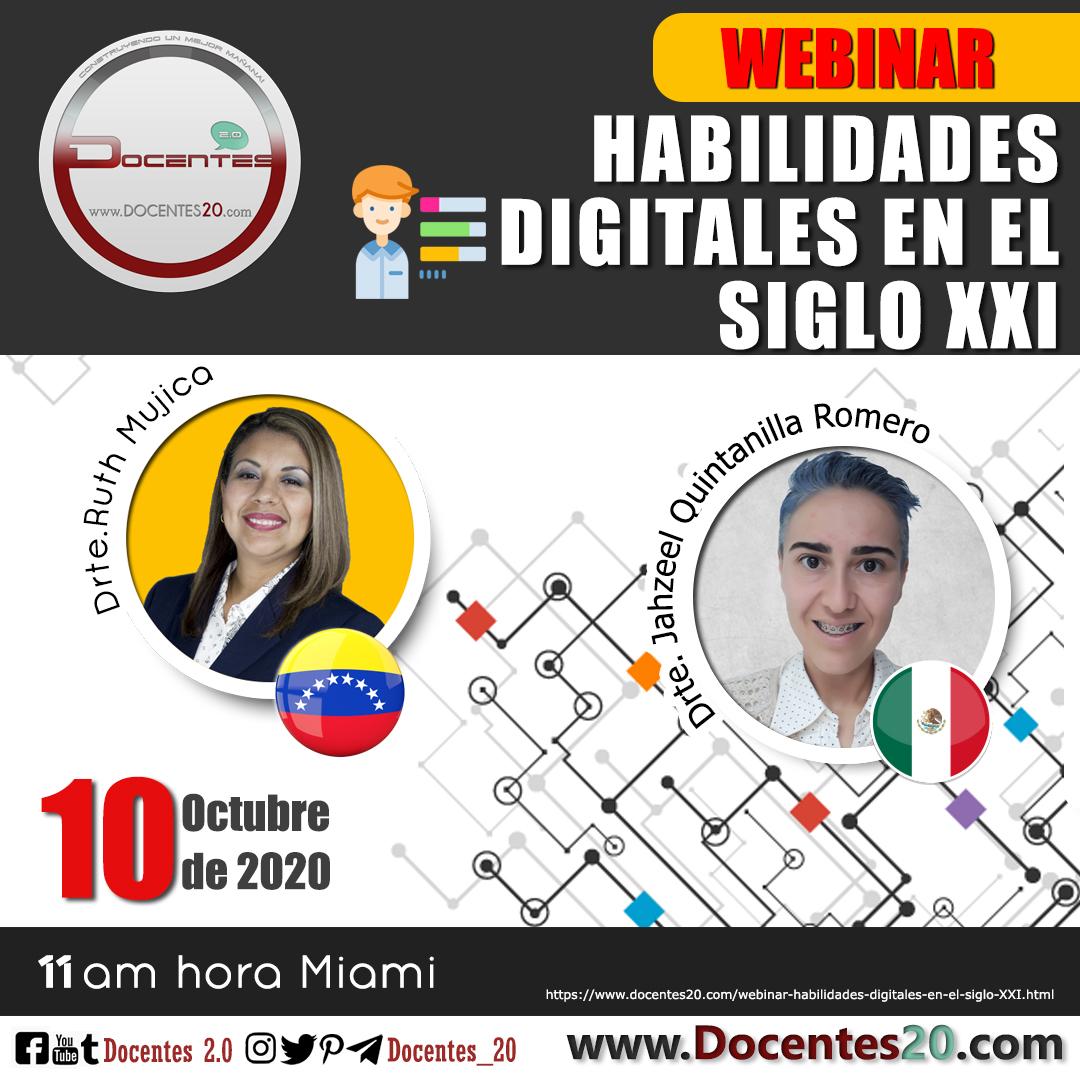 Webinar: HABILIDADES DIGITALES EN EL SIGLO XXI